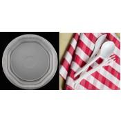 Κουταλομαχαιροπίρουνα - Πιάτα Μιας Χρήσης